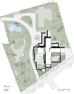 The House Of Secret Gardens,Site Plan