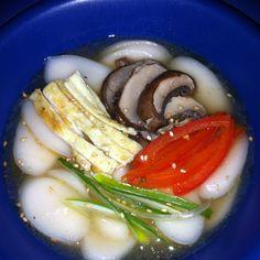 #떡국/ Rice Cake Soup
