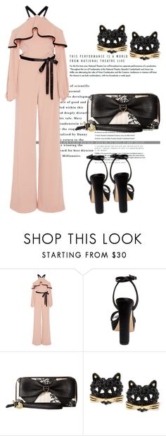 """""""Untitled #3554"""" by janicemckay ❤ liked on Polyvore featuring Alexis and Betsey Johnson"""