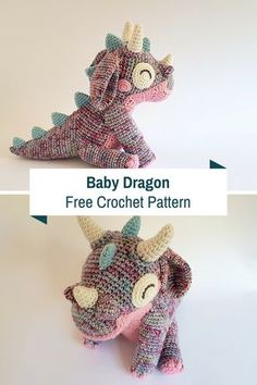 Gorgeous Crochet Baby Dragon For That Special Little In Your Life