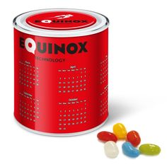 Calendar Tin - Jolly Beans