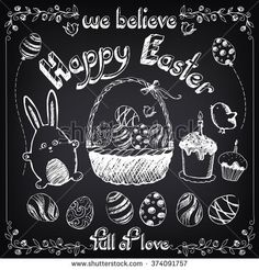 https://thumb1.shutterstock.com/display_pic_with_logo/1879949/374091757/stock-vector-vintage-happy-easter-set-with-cute-rabbit-and-eggs-easter-cakes-floral-background-easter-basket-374091757.jpg