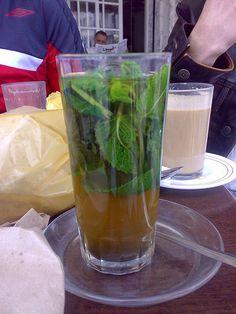 Tea with Mint - Martil Tetouan - the most delicious mint tea ever......