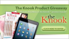 Enter the Knook Product Giveaway! You could win an iPad mini!