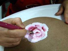 Pintura de Rosa Gestual, com Denise Emery - YouTube