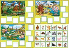 Atención Free Preschool, Preschool Worksheets, Preschool Activities, Therapy Activities, Book Activities, Such Und Find, Visual Perception Activities, Montessori Math, Autism Activities