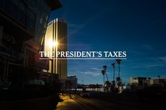 18 Revelations From a Trove of Trump Tax Records - The New York Times Trump International Hotel, The Trump Organization, Trump Taxes, Federal Bureau, Investment Firms, Las Vegas Hotels, Las Vegas Strip, Atlantic City, Sales And Marketing