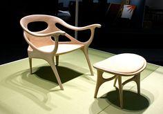 amazingly crafted furniture by Danish designer Helle Damkaer for Japanese manufacturer Kitani