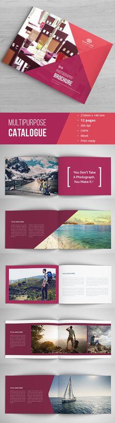 Indesign Portfolio Catalogue on Behance