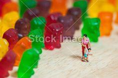 Gummi bear invasion