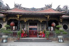 Taipei, Taiwan Day 1; Lungshan Temple, Bopiliao Ancient Street ...