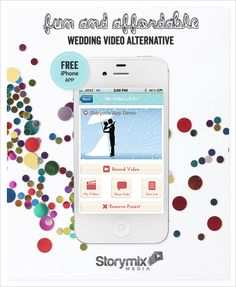 would you consider something like storymixmedia.com/? it's a fun and affordable wedding video alternative
