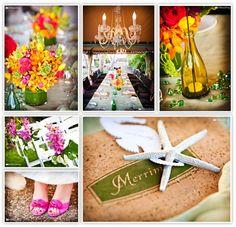 Tropical Maui Wedding Decor @ Merriman's Kapalua / Mike Sidney Photography