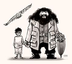 Harry and Hagrid
