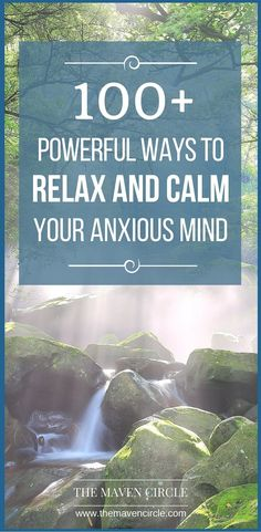 Here is a mega list of options for calming anxiety! Wondering how to deal with frequent stress and anxiety in a healthy and quick way? I've compiled a list of some of my favorite tips, tricks and techniques for you to try!