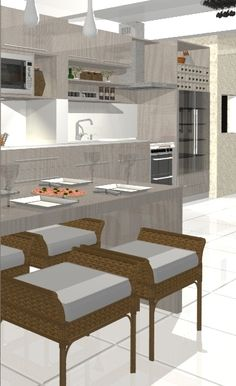 Paula Pereira | Arquitetura e Interiores | Conforto em Ambientes: Cozinha