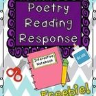 Your students will love responding to poems using our poetry response pages made for interactive journals! There are two different templates includ. Reading Response Notebook, Reading Notebooks, Library Activities, Writing Activities, First Grade Poems, Interactive Journals, Teaching Poetry, School Songs