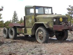 """This 1954 M35 """"Deuce and a Half"""" is said to start even on the coldest day, the seller further noting thatit's capable of driving through four feet of snow without chains. The truck has clearly worked for a living, yet shows only ~15k believed-accurate miles on the odometer. All light"""