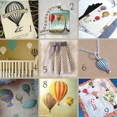 hot air balloon nursery - Google Search