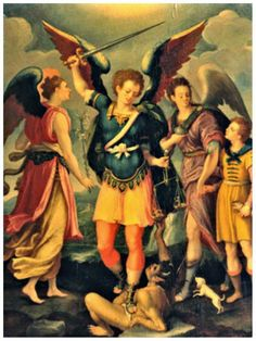 Dios omnipotente, concédenos el auxilio de tus Arcángeles y demás espíritus celestiales a fin de que por ellos seamos preservados d...