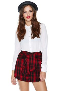 Grunge Right In Skirt | Shop Skirts at Nasty Gal  $48.00 low inventory. fave