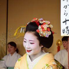 Tokai Ebisu 2015 with maiko Shouko of Gion Kobu