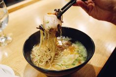 Ippudo in NYC —an import from Japan—that showed New Yorkers exactly what traditional Japanese-style tonkotsu pork broth should taste like.