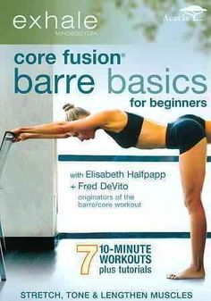 Exercise For Beginners Karen busts out of a workout slump by trying an entirely new type of exercise for her! - Quick results from a beginner barre routine in the Core Fusion Barre Basics for Beginners workout DVD brought Karen out of her workout slump. Pilates Workout, 10 Minute Workout, Barre Workouts, Workout Dvds, Cardio, Workout Routines, Pilates Ring, Pilates Barre, Week Workout