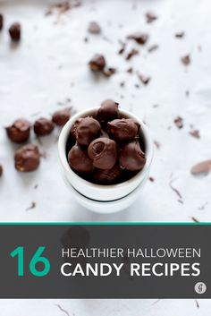 16 Healthier Halloween Candy Recipes to Make at Home