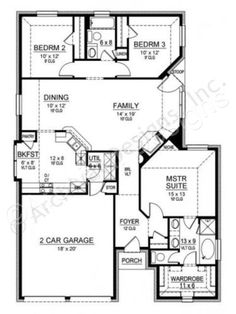 Cedar Crest House Plan Cedar Crest House Plan First Floor Plan