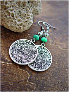 Boho Earrings Gypsy Earrings Boho Jewelry by HandcraftedYoga, $25.00