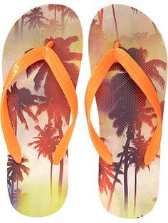 Mens Printed Flip-Flops Maternity Wear, Flip Flops, Old Navy, Wedding Ideas, Man Shop, Printed, How To Wear, Clothes, Women