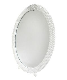 Jeweled Oval Table Mirror by Concepts