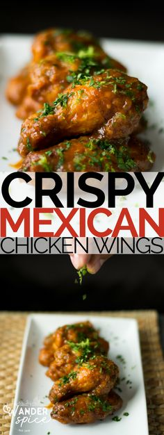 Cinco De Mayo all year long with these crispy wings and tequila and lime based spicy sauce