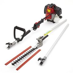 NEW TRUESHOPPING® 52CC PETROL LONG REACH POLE GARDEN HEDGE TRIMMER BRANCH CUTTER WITH AIR-COOLED VERTICAL CYLINDER AND AUTOMATIC TRANSMISSION 2.2 kW 3HP