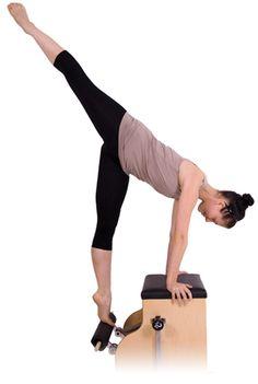 @Francene Perel #Pilates #Equipment: the #Wunda Chair