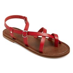 Women's Lavinia Thong Sandals - Red 6