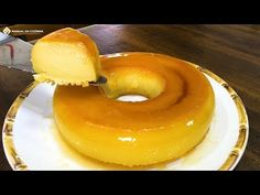 YouTube Doughnut, Panna Cotta, Ethnic Recipes, Desserts, Food, Mousse, 1, Youtube, Hot Milk Cake