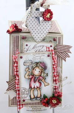 Cards by Camilla: MDUC #174 ~ Wine tag ♥