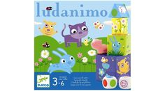 Djeco presents Ludanimo consisting of 3 complete and scalable games for toddlers from 3 to 6 years old. Balance game, memo game and course game to Board Game Online, Online Games, Board Games, Threes Game, Typing Games, Games For Toddlers, Memory Games, Played Yourself