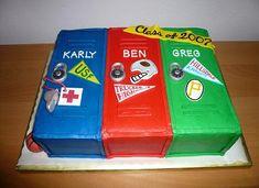 High School Graduation Party Ideas | Graduation Cake Ideas - Cupcakes