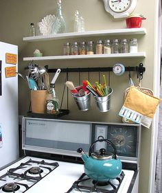 Small Apartment Kitchen Organization 30 small cool kitchens from real homes — kitchen gallery