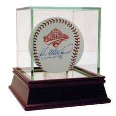John Wetteland 1996 World Series Baseball w/ WS MVP 96 Insc