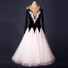 Find More Information about Top Quality Adult Modern Dance One piece Dress Black/White Long sleeve Professional Standard Ballroom Dancing Dresses MQ007,High Quality dress tag,China dresses with empire waist Suppliers, Cheap dress tiger from Love to dance on Aliexpress.com