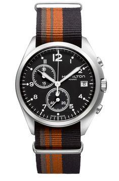 Hamilton Watch · Pilot Pioneer Chrono Quartz