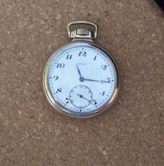 Vintage Buren Pocket Watch 15 Jewel GF by MargsMostlyVintage Gold Pocket Watch, Friend Jewelry, Watch Sale, Jewelry Shop, Vintage Men, Jewelry Collection, Vintage Jewelry, Bling, Jewels