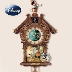Disney Pinocchio wall clock by Schmid