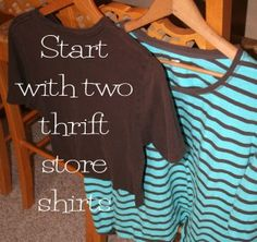 Lots of refashion tutorials and super cute!