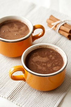 Dairy-Free Mexican Hot Chocolate....because we all need a treat from time to time!