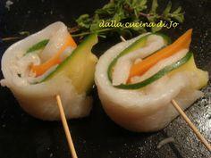 ''dalla cucina di Jo'': Involtini di platessa e verdure